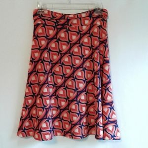 LuLaRoe Geometric Stretchy Skirt Size Medium